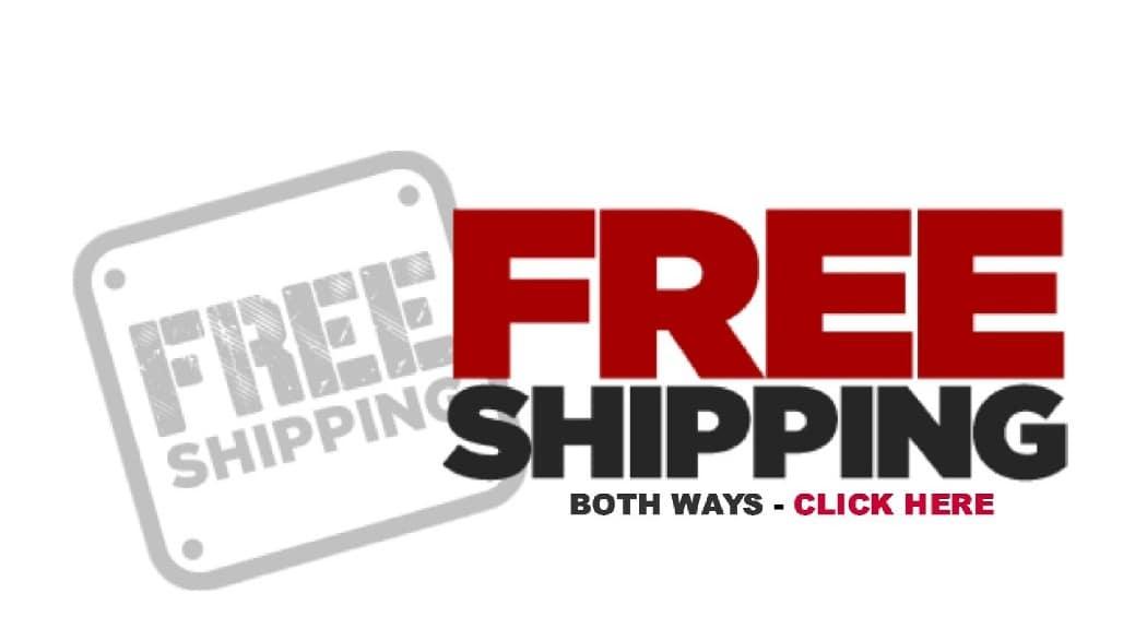 Free Shipping bothways